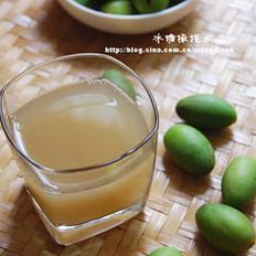 冰糖橄榄水的做法