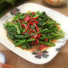 韩式凉拌菠菜的做法