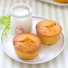 南瓜葡萄干蛋糕