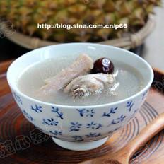 榴莲瓤煲鸡汤