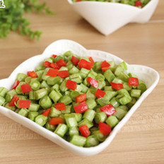 剁椒腌豇豆