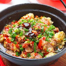 牛肉滑蛋蛤肉煲
