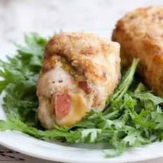 鸡肉起司卷