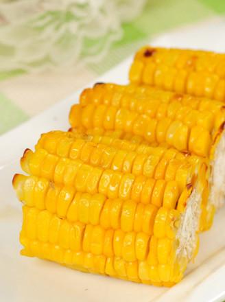 奶香烤玉米的做法