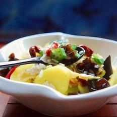黄秋葵烩饭