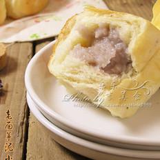 老面芋泥面包