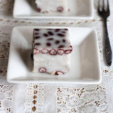 红豆椰香芋丝糕