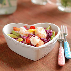 什蔬鲜虾沙拉