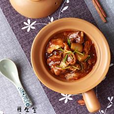 萝卜牛腩煲