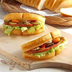半圆三明治
