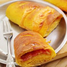 南瓜培根面包