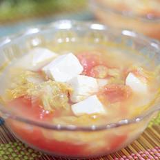 番茄豆腐蔬菜汤