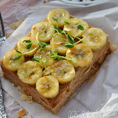 桂花蜜香蕉吐司