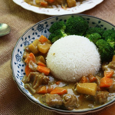 咖喱牛腩饭