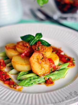 芦笋土豆沙拉的做法