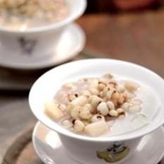 山药薏米姜汁粥