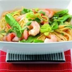 泰国鲜虾汤面