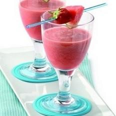 西瓜草莓橘子汁