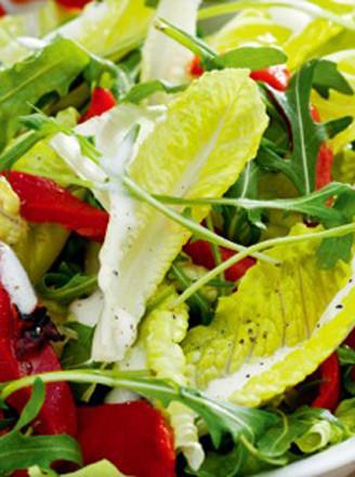 烤椒蔬菜沙拉的做法