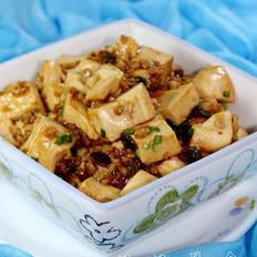 香菇炸酱肉末豆腐