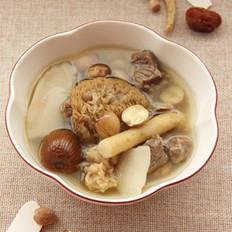 猴头菇淮山莲子汤
