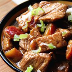 山楂炒肉片的做法