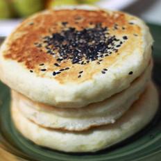 玉米渣发面饼