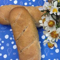 胚芽坚果面包的做法