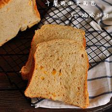 午餐肉玉米面包