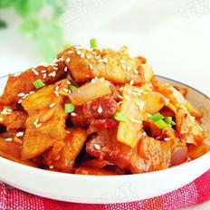韩式泡菜炒五花肉