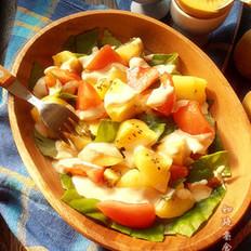蔬果暖沙拉