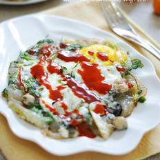 韩风蛋煎牡蛎的做法大全