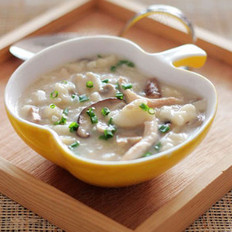 双菇鸡肉疙瘩汤