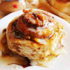 肉桂枫糖面包卷