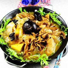 飘香鸡什锦菌菇火锅