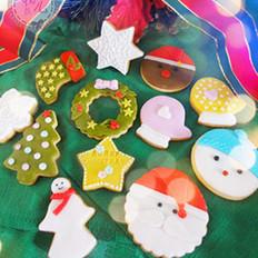 翻糖圣诞姜饼