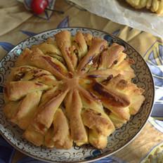 金菊花栗子鸡面包