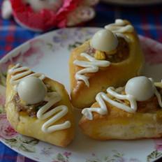 菱形元宝面包
