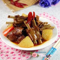 红焖羊排萝卜