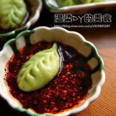 海兔猪肉马蹄韭菜饺子