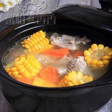 玉米龙骨汤