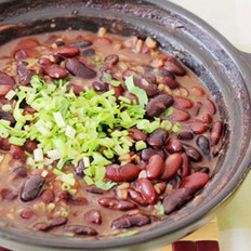 燕麦芸豆煲