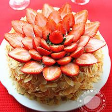杏仁水果蛋糕