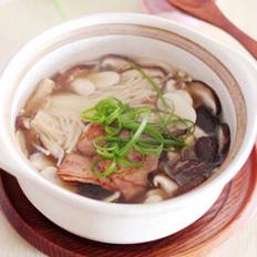 培根菌菇煲