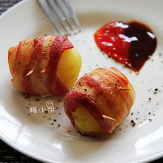 培根烤土豆