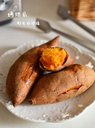 烤箱版烤地瓜的做法
