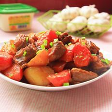 黄豆酱焖羊排