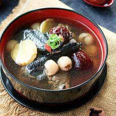 桂圆红枣乌鸡汤