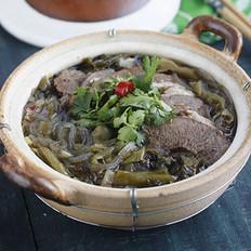酸菜牛肉粉丝煲