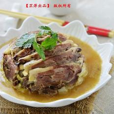 羊肉白菜扣碗